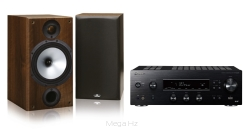 Pioneer SX-N30 DAB + Monitor Audio Reference 2