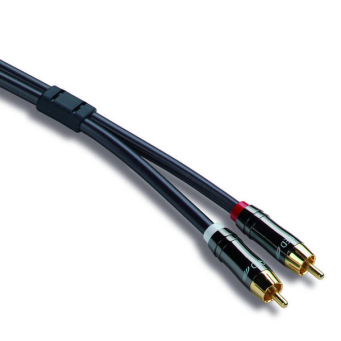 KABEL QED PERFORMANCE GRAPHITE AUDIO 1.0m