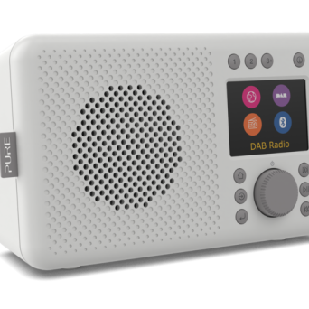 Pure Elan Connect - grey - radio internetowe 357 Nowy Świat / DAB+ / FM / bluetooth